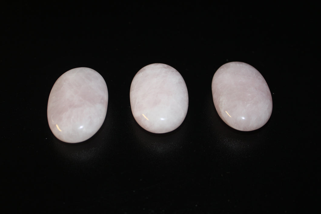 Rose Quartz Small Palm Stones
