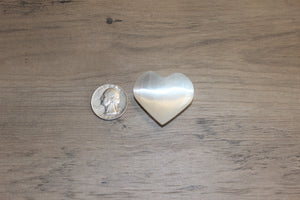 Selenite Hearts