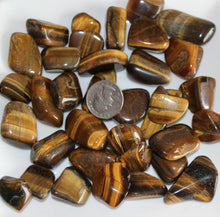 Load image into Gallery viewer, Tumbled Tiger Eye