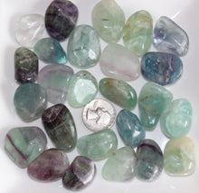 Load image into Gallery viewer, Tumbled Rainbow Fluorite