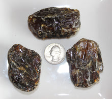 Load image into Gallery viewer, Rough Dark Amber Specimen (Prices Vary)