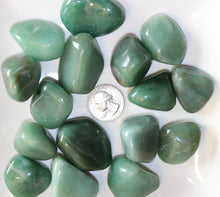 Load image into Gallery viewer, Tumbled Green Aventurine