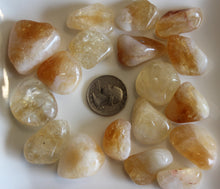 Load image into Gallery viewer, Tumbled Citrine