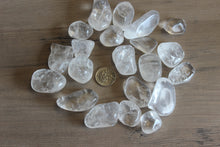 Load image into Gallery viewer, Tumbled Clear Quartz (Prices Vary)
