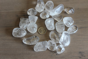 Tumbled Clear Quartz (Prices Vary)