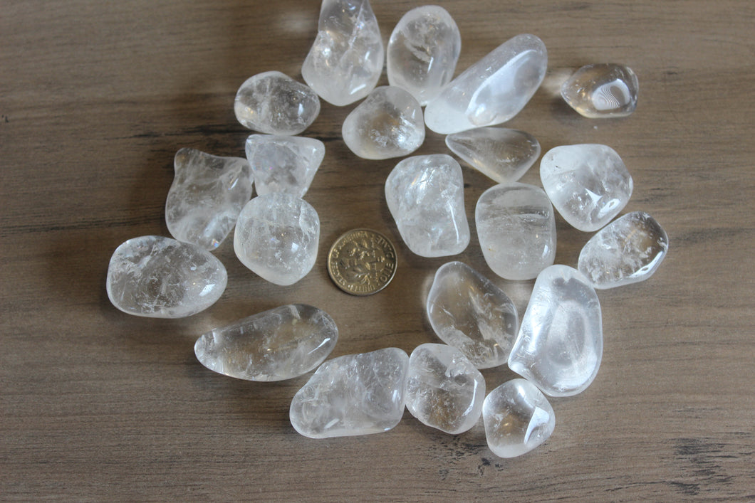 Tumbled Clear Quartz