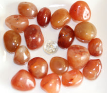 Load image into Gallery viewer, Tumbled Carnelian