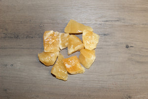 Rough Orange Calcite (Prices Vary)