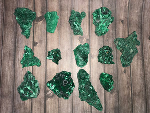 Natural Malachite Specimens