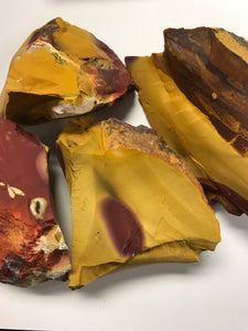 Rough Mookaite Jasper