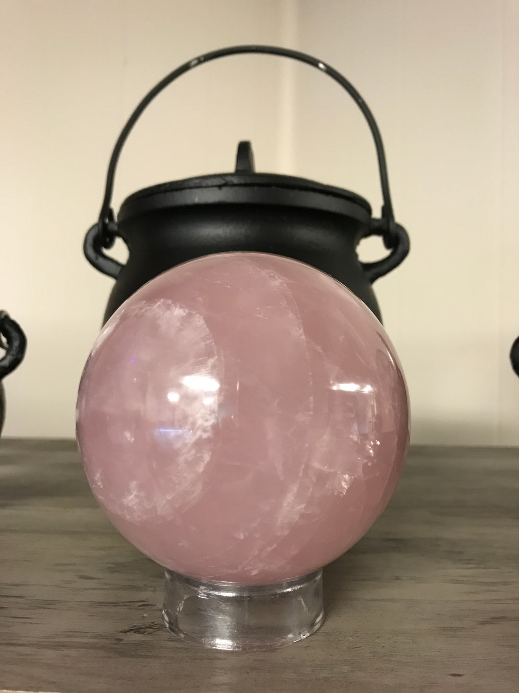 90-100mm Rose Quartz Sphere