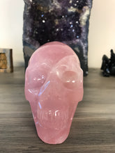 Load image into Gallery viewer, Rose Quartz Skull