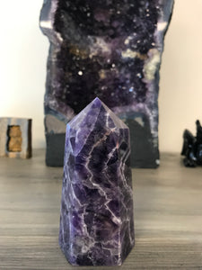 Chevron Amethyst Tower