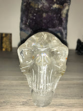 Load image into Gallery viewer, Clear Quartz Alien Skull #2