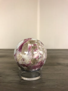 60-70mm Rubellite Sphere