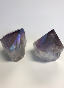Aura Amethyst Polished Points