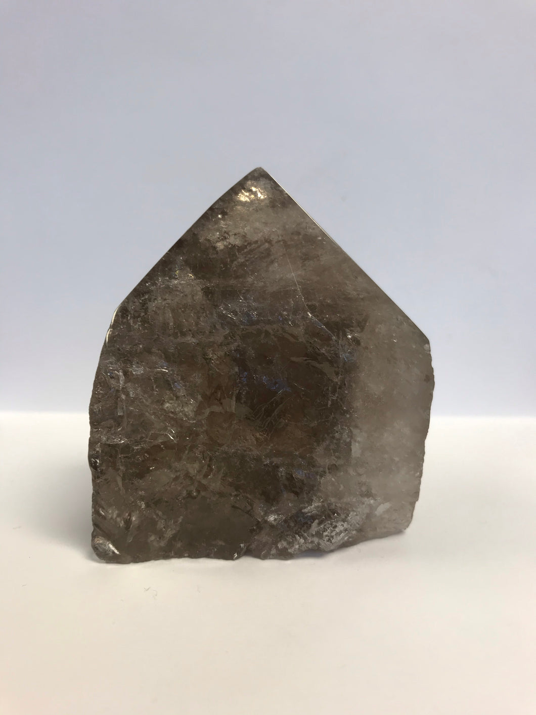 Rough Smoky with Polished Point