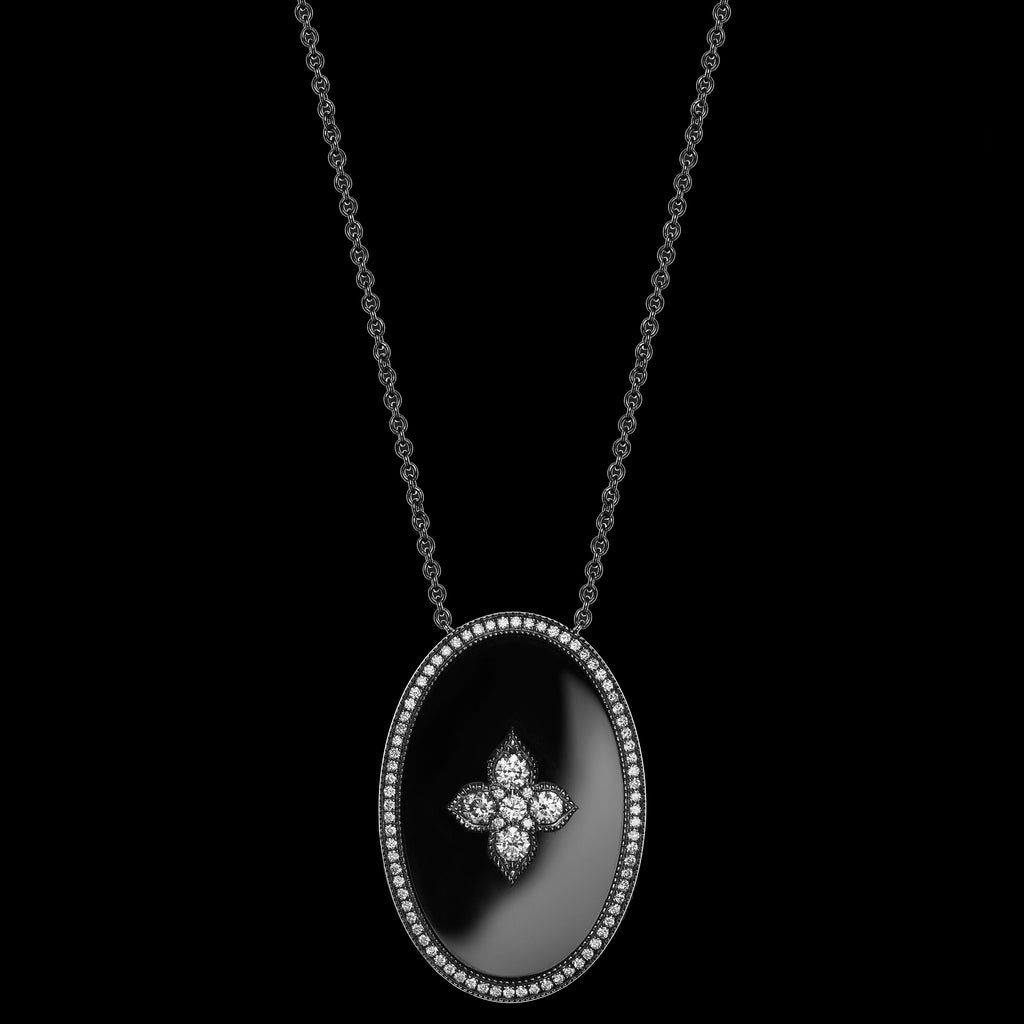 The Midnight Shadows Long Necklace (NTT-LN01-MS)