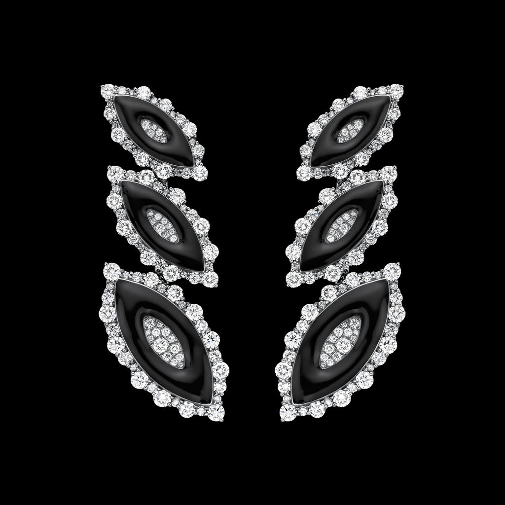 The Midnight Shadows Earrings (NTT-E09-MS)