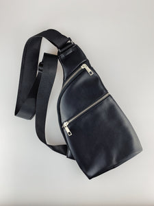 Frost Black Crossbody Bag