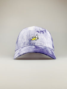 Cappy Banana Embroidery Tie Dye Cap