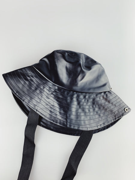 PU Leather Bucket Hat