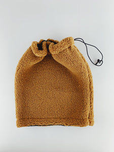 Brown Fleece Snood