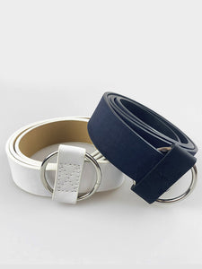 2 PACK BELTS WITH RING BUCKLE