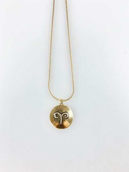 ARIES HOROSCOPE NECKLACE