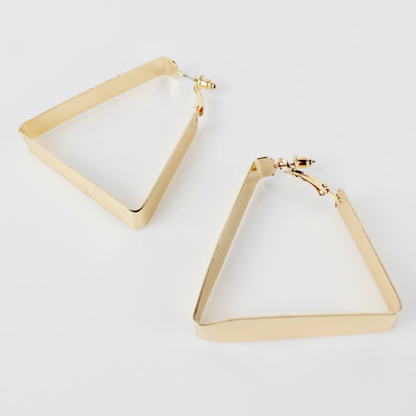PACK OF 2 GOLD EARRINGS - svnx