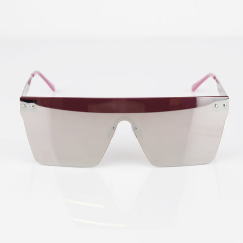 ROSE GOLD FRAME MIRRORED SUNGLASSES - svnx