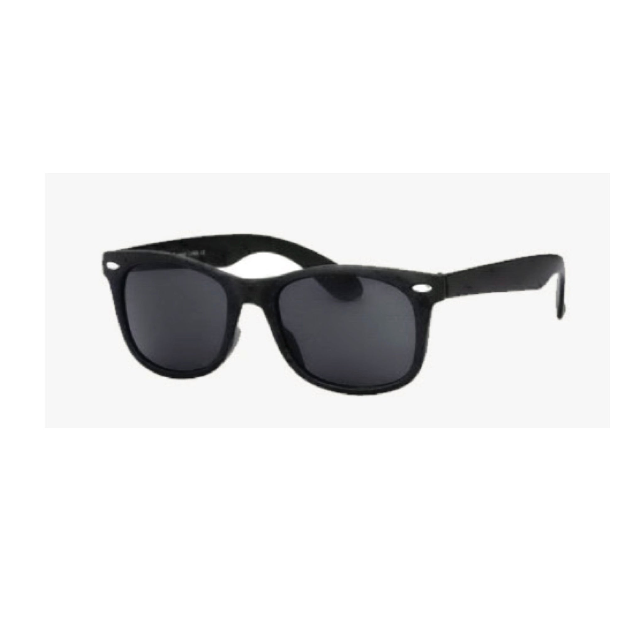 MATTE FINISH BLACK SUNGLASSES - svnx