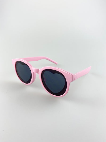 Heart Sunglasses In Pink