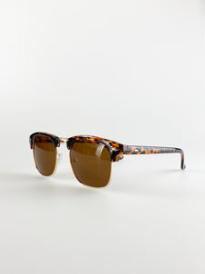 2 Pack Sunglasses In Brown And Green