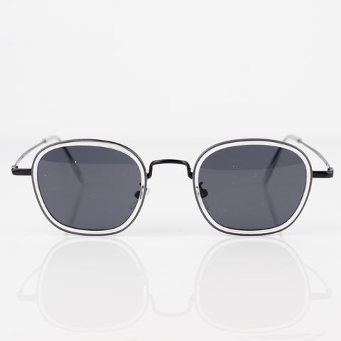 BLACK METAL FRAME WITH BLACK LENSES SUNGLASSES - svnx