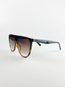 Oversized Sunglasses In Tortoise Shell