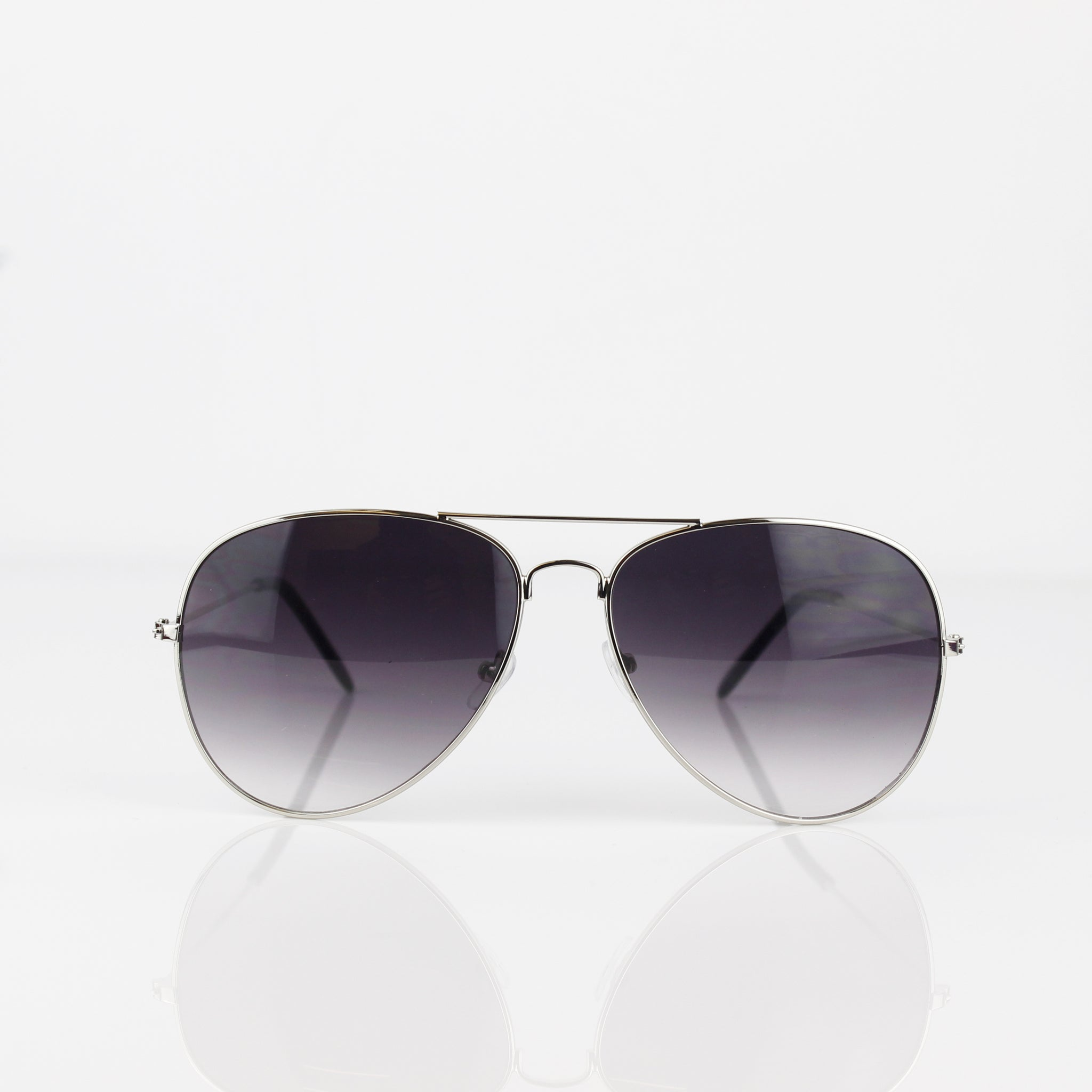 SILVER AVIATOR SUNGLASSES - svnx