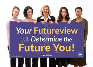 Your Futureview will Determine the Future You! - Individual Success Banner (3'x6')