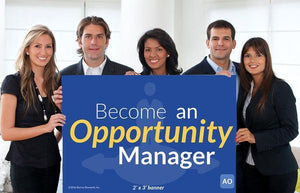 Opportunity Manager - Individual Success Banner (2'x3')