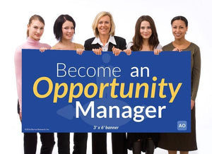 Opportunity Manager - Individual Success Banner (3'x6')