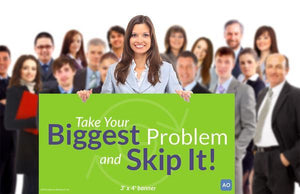 Skip It - Individual Success Banner (3'x4')