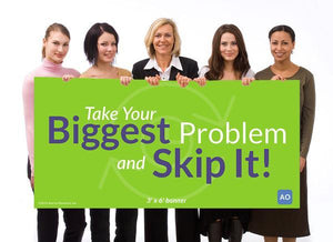 Skip It - Individual Success Banner (3'x6')