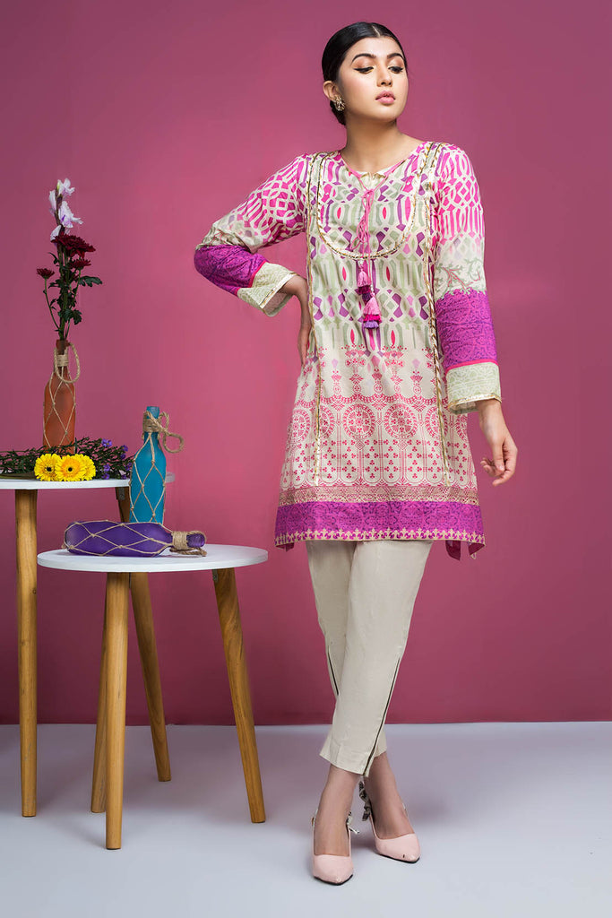 Warda Designer Collection - Single Shirt Lawn Print-Regular 130406A