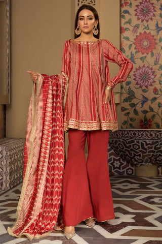 Warda Designer Collection - 3PC Printed Lawn LS19171