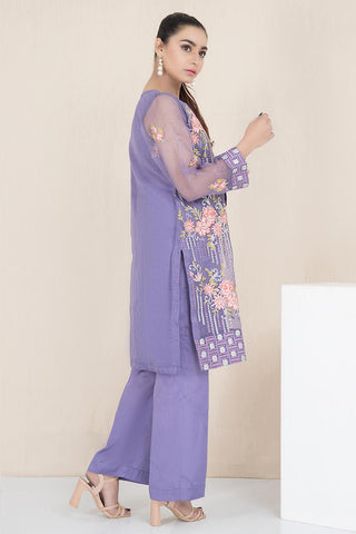 Warda Designer Collection - Formal Embroidered Shirt with Inner LPW1920