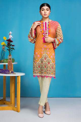 Warda Designer Collection - 2PC Lawn Print (Trouser) 1.75m Shirt 2520111