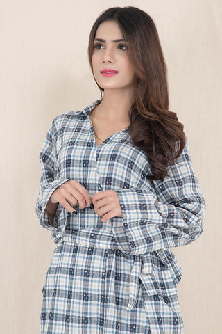 Warda Designer Collection - Woven Solid Shirt LW19641