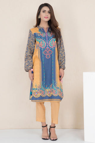 Warda Designer Collection - Single Shirt Khaddar Print LW19561