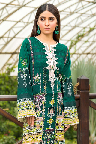 Warda Designer Collection - Single Shirt Lawn Embroidery 1320426