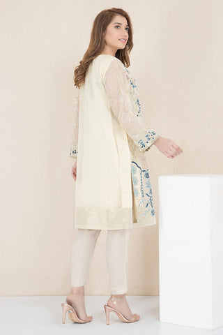 Warda Designer Collection - Formal Embroidered Shirt with Inner LPW1913